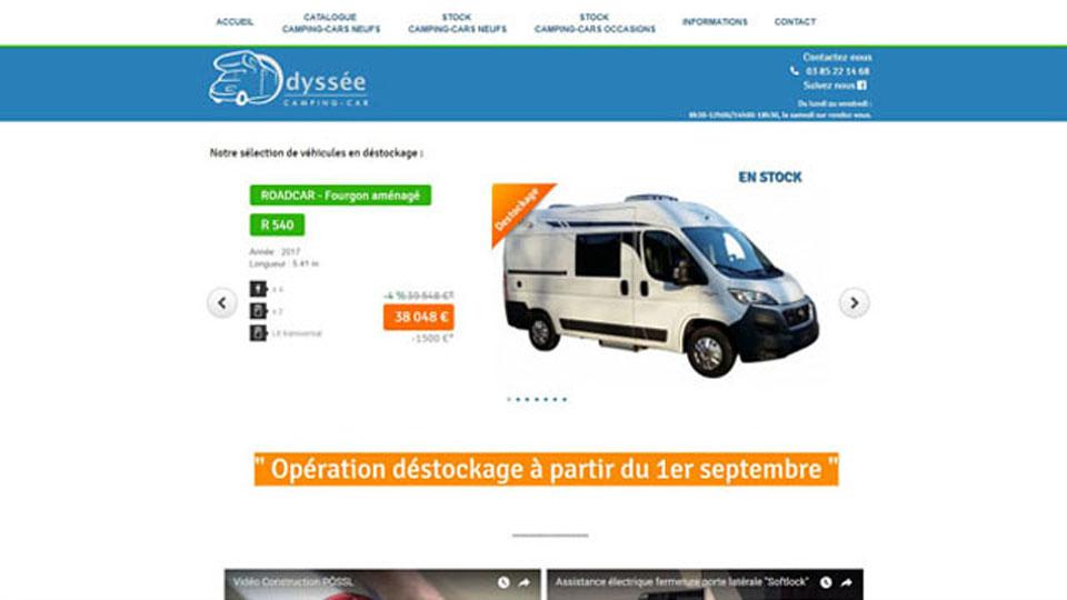 odysse camping car