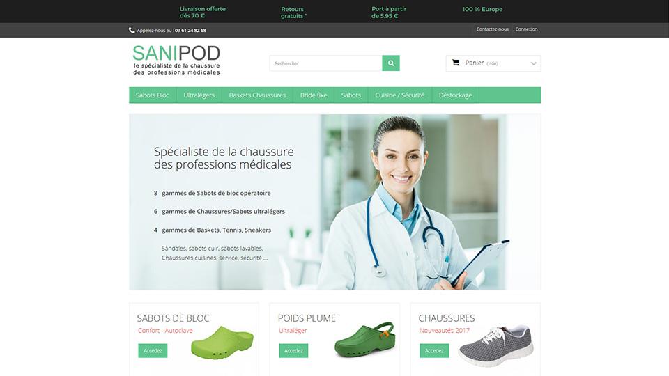 Sanipod