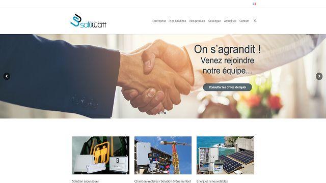 SOLUWATT site internet