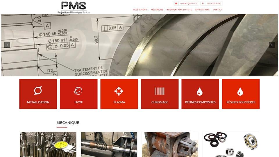 site internet pms