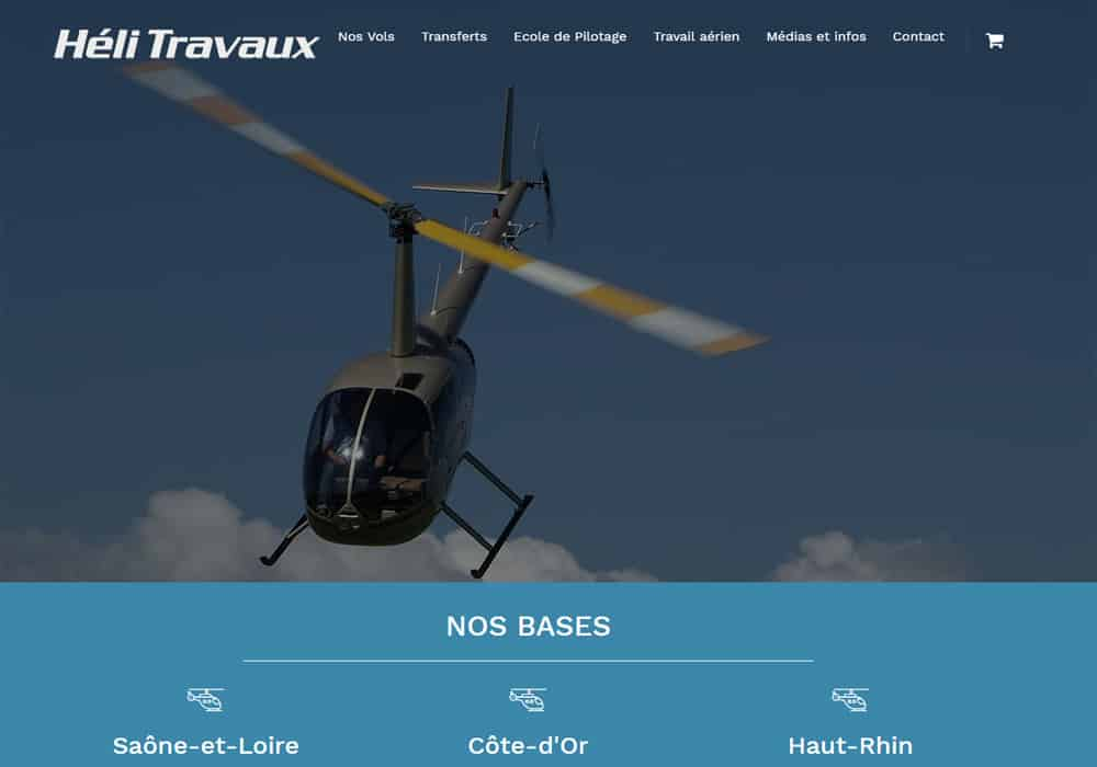 creation site internet internet helitravaux
