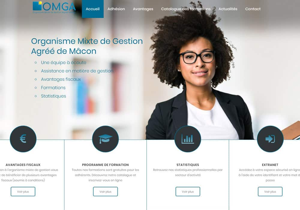 site internet omga macon