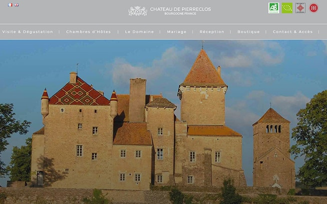 chateau de pierreclos realisation ims on line