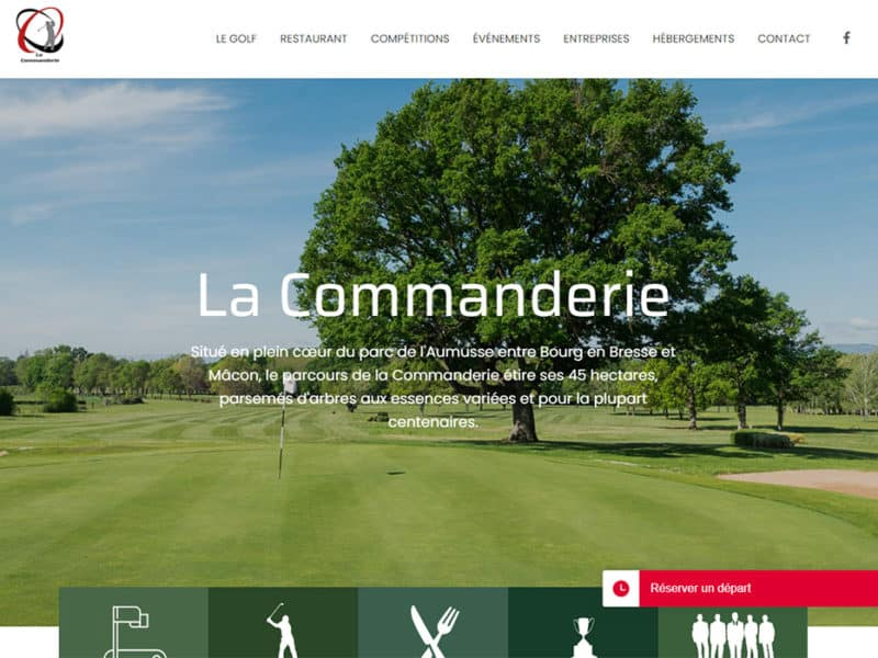 site internet golf macon