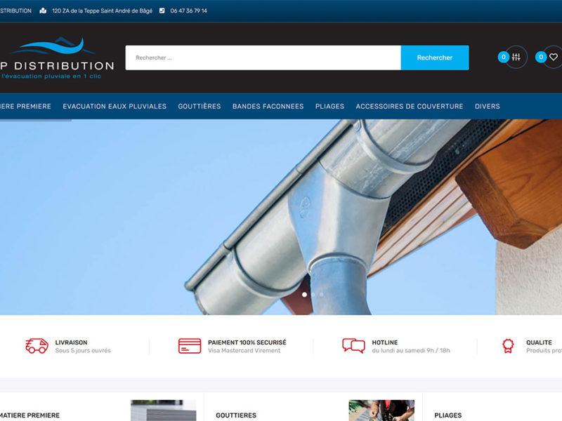 site e-commerce ap distribution