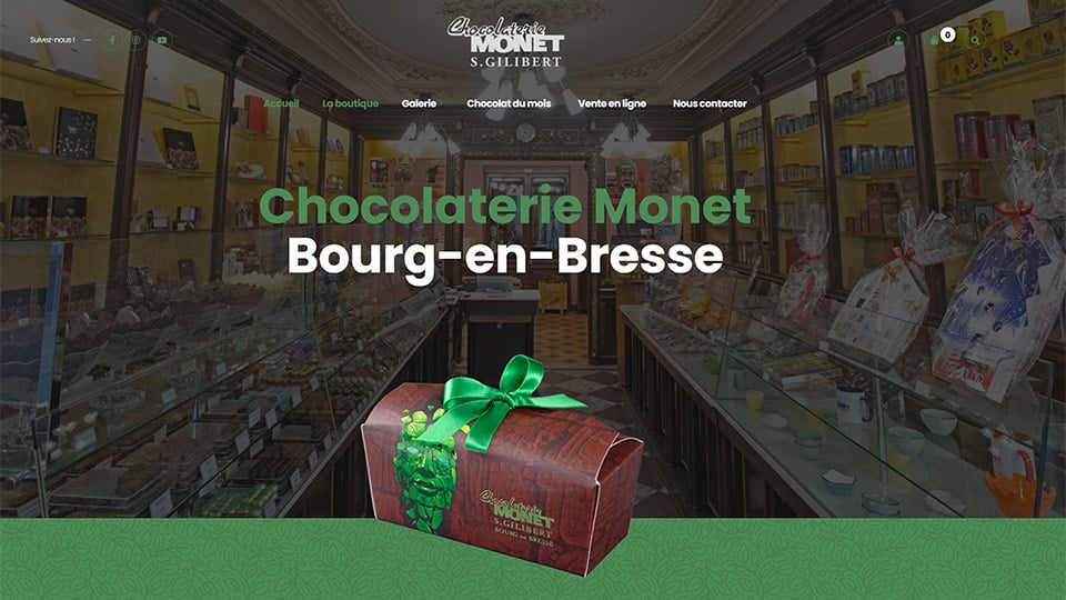 chocolaterie monet bourg-en-bresse
