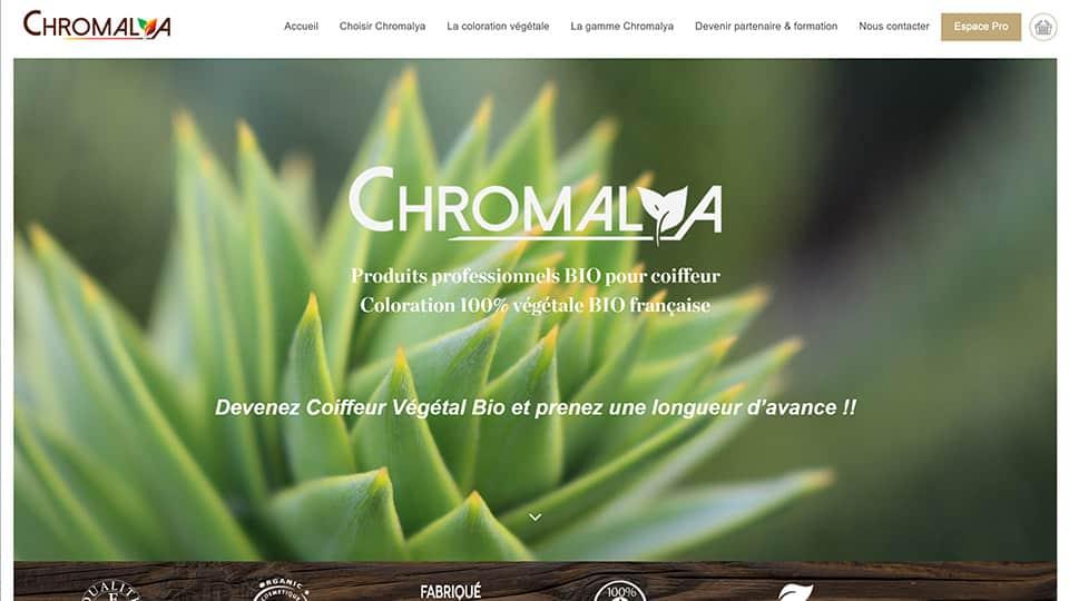 chromalya produits pour coiffeurs bio végétal