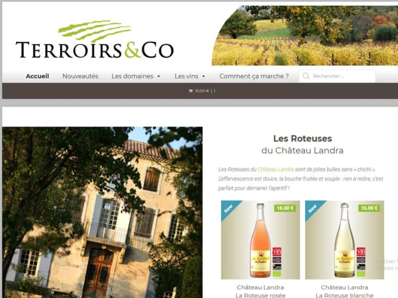 Terroirs and Co vins natures bio